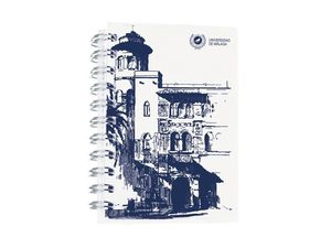 CUADERNO POLIPROPILENO A6 BLANCO