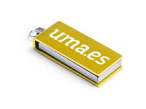 USB MINI 8 GB AMARILLO