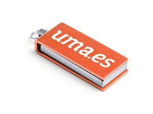 USB MINI 8 GB NARANJA